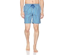 Beach Bros Men's Striped Short, Blue