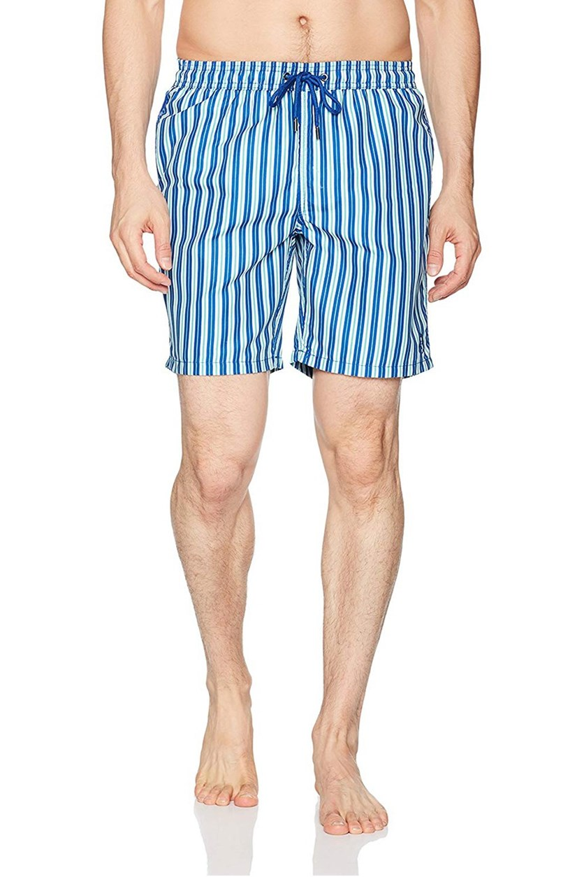 Men's Striped Short, Blue