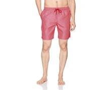 Beach Bros Men's Geo Short, Red