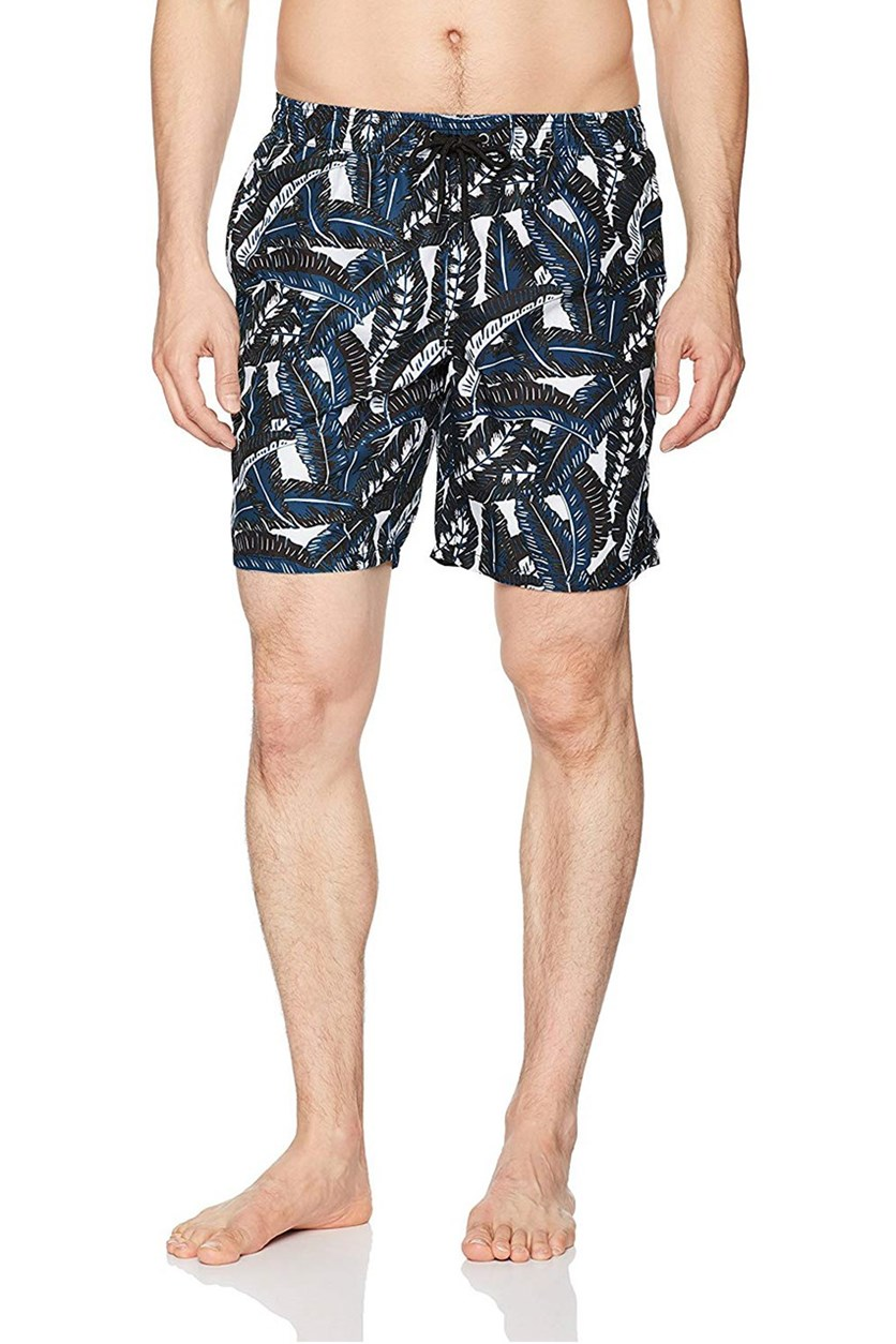 Men's Banana Leaf Short, Blue