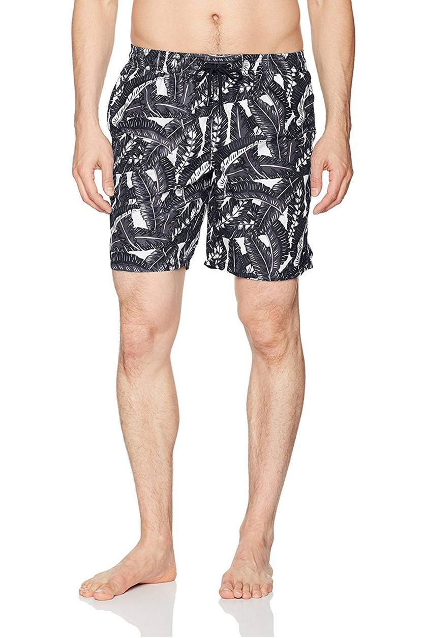 Men's Banana Leaf Short, Graphite