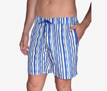 Beach Bros Men's Wavy Stripe E-Board Short, Yellow