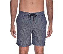 Beach Bros Men's Geo E-Board Short, Black
