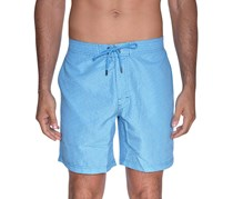 Beach Bros Men's Geo E-Board Short, Teal