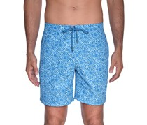 Beach Bros Men's Floral E-Board, Blue