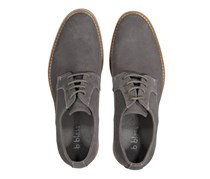 B Blass Men's Lace Up Dress Shoes, Gray