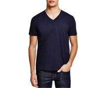 Splendid Mills Men's Short Sleeve V-Neck T-Shirt, Navy