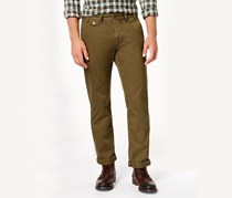 Barbour Mens Neuston Twill Pants, Willow Green