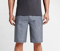 Hurley Harvey Super suede Short Strip, Black/Grey