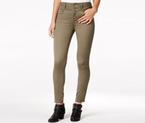 Juniors High-Waist Skinny Jeans, Tapenade
