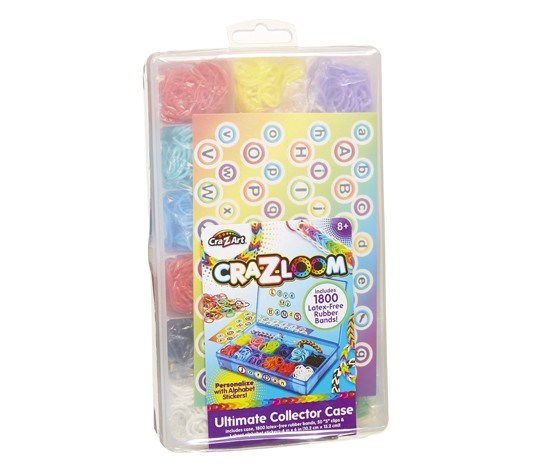 Cra-Z-Loom Ultimate Collectors Case Clear