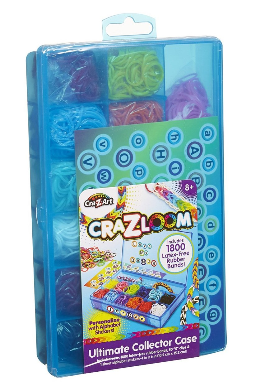 Cra-Z-Loom Ultimate Collectors Case Blue