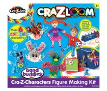 Cra-Z-Art Cra-Z-Loom Band Buddies 3-D Figure Maker Kit