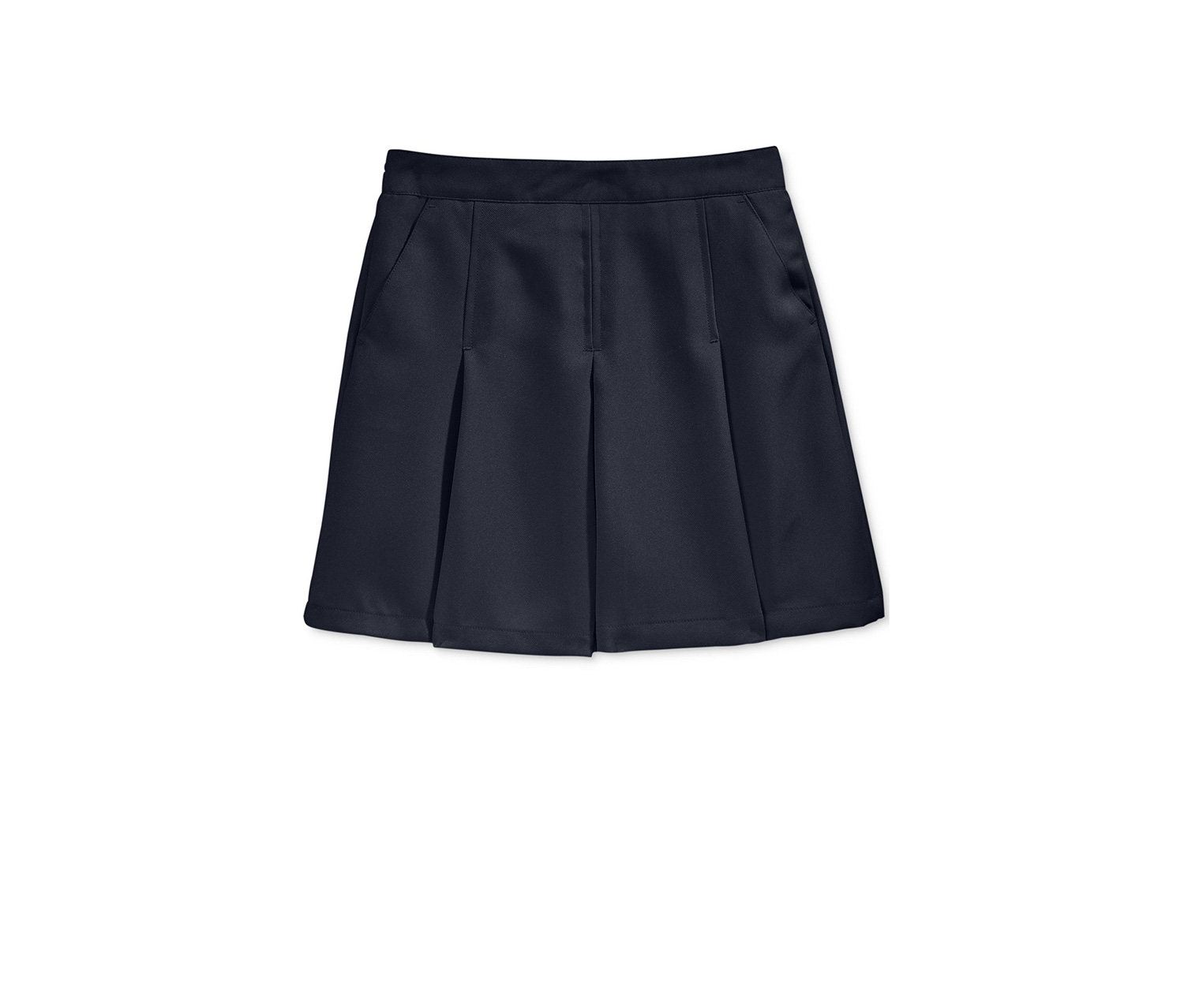 Nautica Uniform Pleated Scooter Skirt, Navy