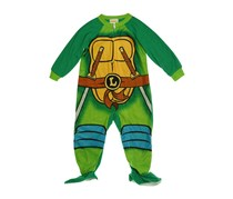 Ninja Turtles Toddler Boys' One-Piece Footed Pajama,Multi