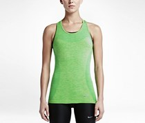 Nike Women's Dri-Fit Knit Tank, Green