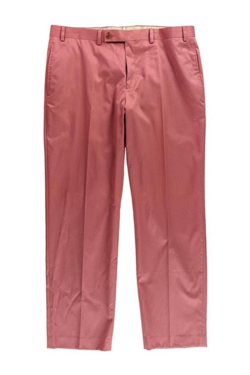Cobalt Solid Pants, Nantucket Red