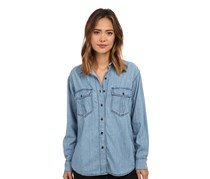 Free People Xo Denim Button Down Shirt, Chambary