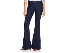 Free People Jolene Flared Jeans, Perfect Navy