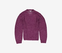 Urban Outfitter Men's Textured Sweater, Purple/White