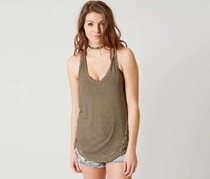 Free People Nectarine Tank Top, Rosemary