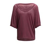 Free People Moonlight Shirt, Mulberry