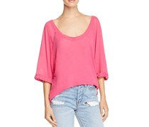 Free People Women's Moonlight Tee, Pink