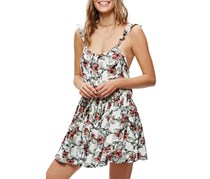 Free People Women's Dear You Minidress, White/Red