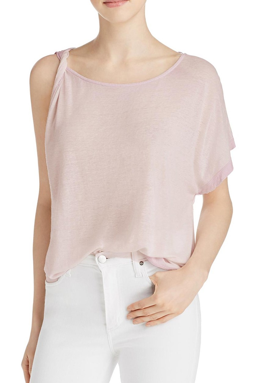 Pluto One-Shoulder T-Shirt, Lavender