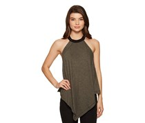 Free People Women's Twin Peaks Tank, Moss/Black/Grey