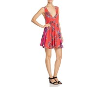 Free People Thought I Was Dreaming Floral Dress, Cherry Combo