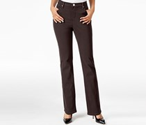 Lee Platinum Gwen Straight-Leg Classic Jean Java, Brown