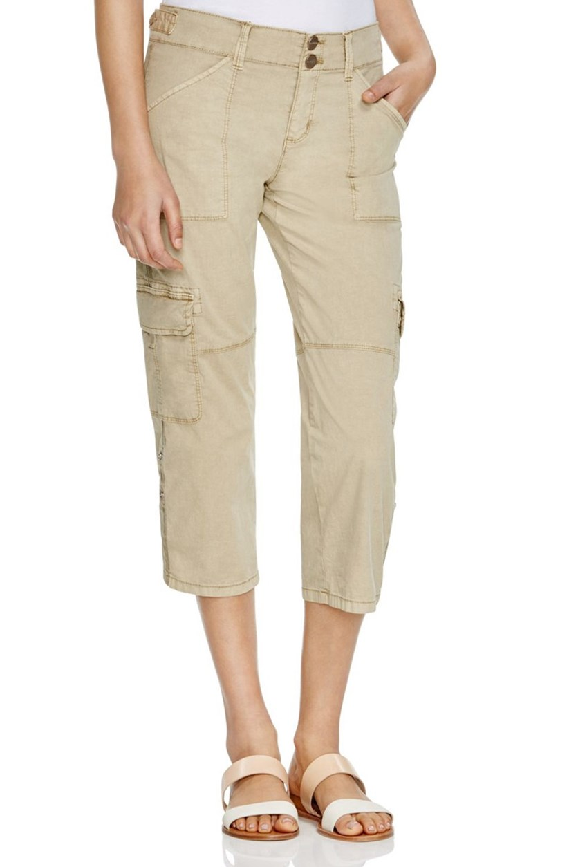 Habitat Cropped Cargo Pants, Real Khaki