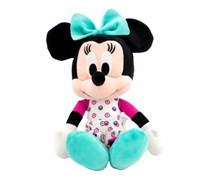 Mickey And Friends Minnie In Icon Mad 10inch  Plush Toy, Black/Beige