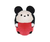 Disney Tsum Tsum Mickey Mouse Soft Toy, Black/RedOrange/White
