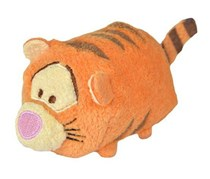 Disney Tsum Tsum Tigger Soft Toy, Orange