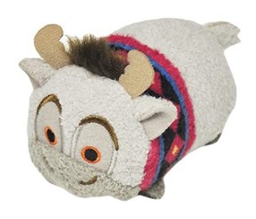 Disney Frozen Tsum Tsum Sven Soft Toy, Grey
