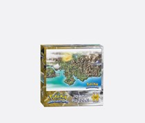 Pokemon Johto Puzzle 550 Piece, Grey/Green