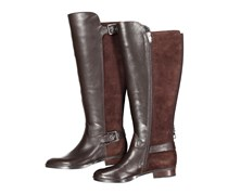 Marc Fisher Women's Boots, Dark Brown Leather