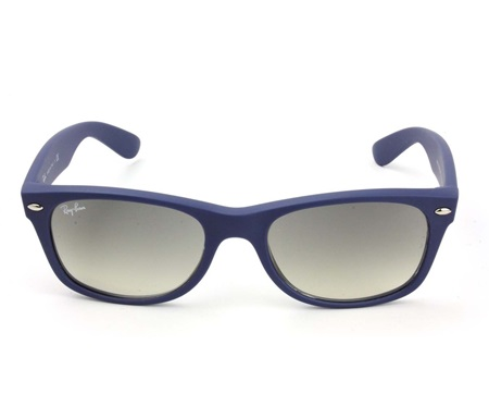 a62aad94fd Shop Ray-Ban Ray-Ban RB2132 Wayfarer Sunglasses-811 32 Rubber Blue for  Accessories in United Arab Emirates - Brands For Less