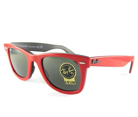 d9fd37496e91f Shop Ray-Ban Ray Ban Wayfarer RB2140 955 Red Black G-15XLT Sunglasses for  Accessories in United Arab Emirates - Brands For Less