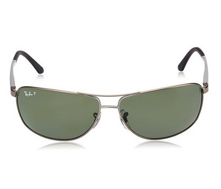 78aa9e59fb Shop Ray-Ban Ray Ban Polarized Rb3506 029 9a 64 13 3p GunMetal Silver for  Accessories in United Arab Emirates - Brands For Less