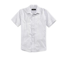 Ring of Fire Boys Checked Shirt, Grey