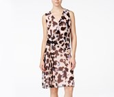Rachel Roy Sleeveless Printed Sheath Dress, Pink Multi