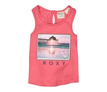 Roxy Toddler Girl's Graphic Tank Top, Rose Of Sharon