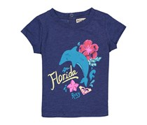 Roxy Toddler Girl's Florida Graphic Top, BluePrint