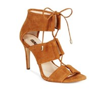 Inc Ritaa Suede Lace up Sandals, Toast
