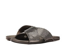 Womens Embellished Sandals, Hematite