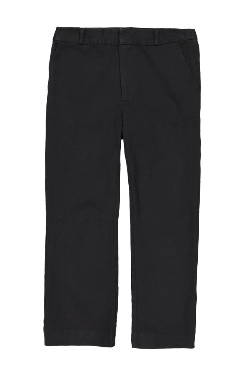 Womens Crop Pants, Black