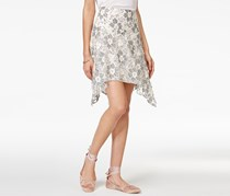 Rachel Roy Lace Handkerchief Skirt, Natural Combo